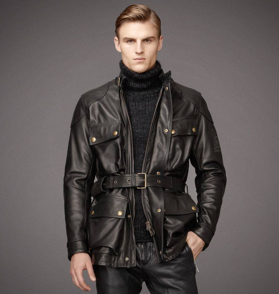 Belstaff Motorcycle Jacket Leather