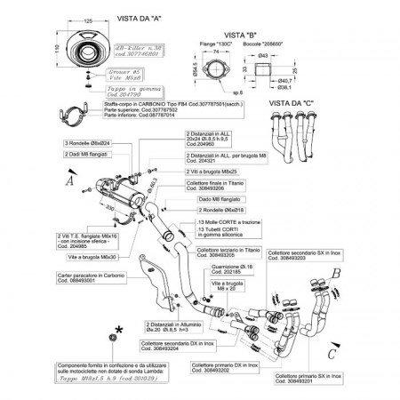 LeoVince SBK Full-System Factory Corsa Titan (full-titanium-system) (Carbon  end-cap) for HONDA CBR 600RR 2009 - 2012
