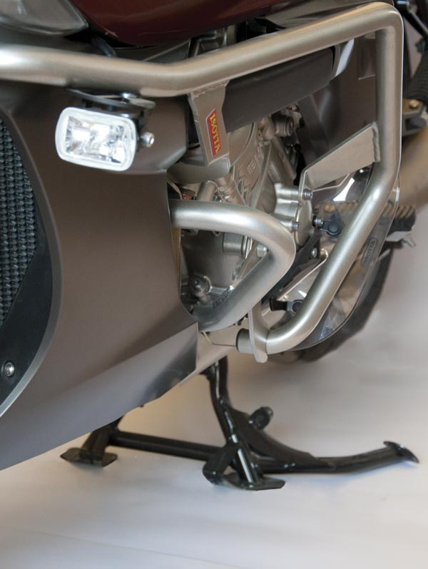 Isotta Left Lower Engine Guard for BMW K1600 GT / GTL 2011-