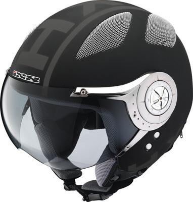 IXS HX 80 jet-helmet black-matt x10001-m33-l (size L)